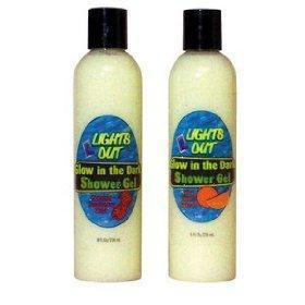 Lights Outs Glow Shower Gel Raspberry