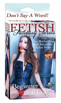Fetish Fantasy Series Beginner's Ball Gag - Black