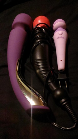 Smart Wand next to Miracle Massager and Inspire
